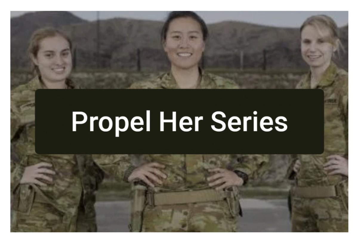 We're very excited to launch a new series this Thursday. Teaming with @LyndsayFreeman8 and @ShamsaLea the 'Propel Her - Defence Women's Leadership Series' is a must read for all, watch this space for Part 1 on Mentorship! #leadership #mentorship #PropelHer https://t.co/tEKh2mcqHE