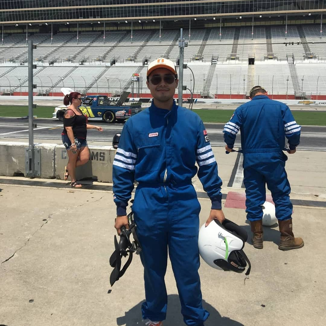 Yesterday was pretty cool 😎🤠🏎️ #nascar