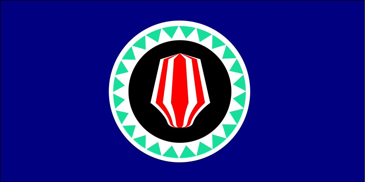 #FlagOfTheDay #FOTD The flag of the Papua New Guinean  autonomous region of #Bougainville in use since 1975. #civil #flag #PapuaNewGuinea #PNGpic.twitter.com/HhaUX6Hcg0