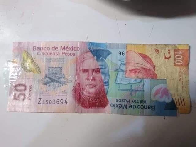 No me quisieron recibir mi billete de $170 pesos, pésimo servicio. https://t.co/i8sTbnNNkK