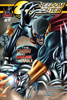 The villains are coming out of the woodwork! The Nameless Man has a startling revelation for Jason Blume.   Freedom Fighter Vol. 9 by @ MDHeitkemper.   #action adventure superhero mystery comics  #comicbooks indiecomics digitalcomics IARTG ASMSG  https://www.comixology.com/Freedom-Fighter-9/digital-comic/779987?ref=Y29taWMvdmlldy9kZXNrdG9wL3NsaWRlckxpc3Qvc2VyaWVz…pic.twitter.com/R3YHW4eHC6