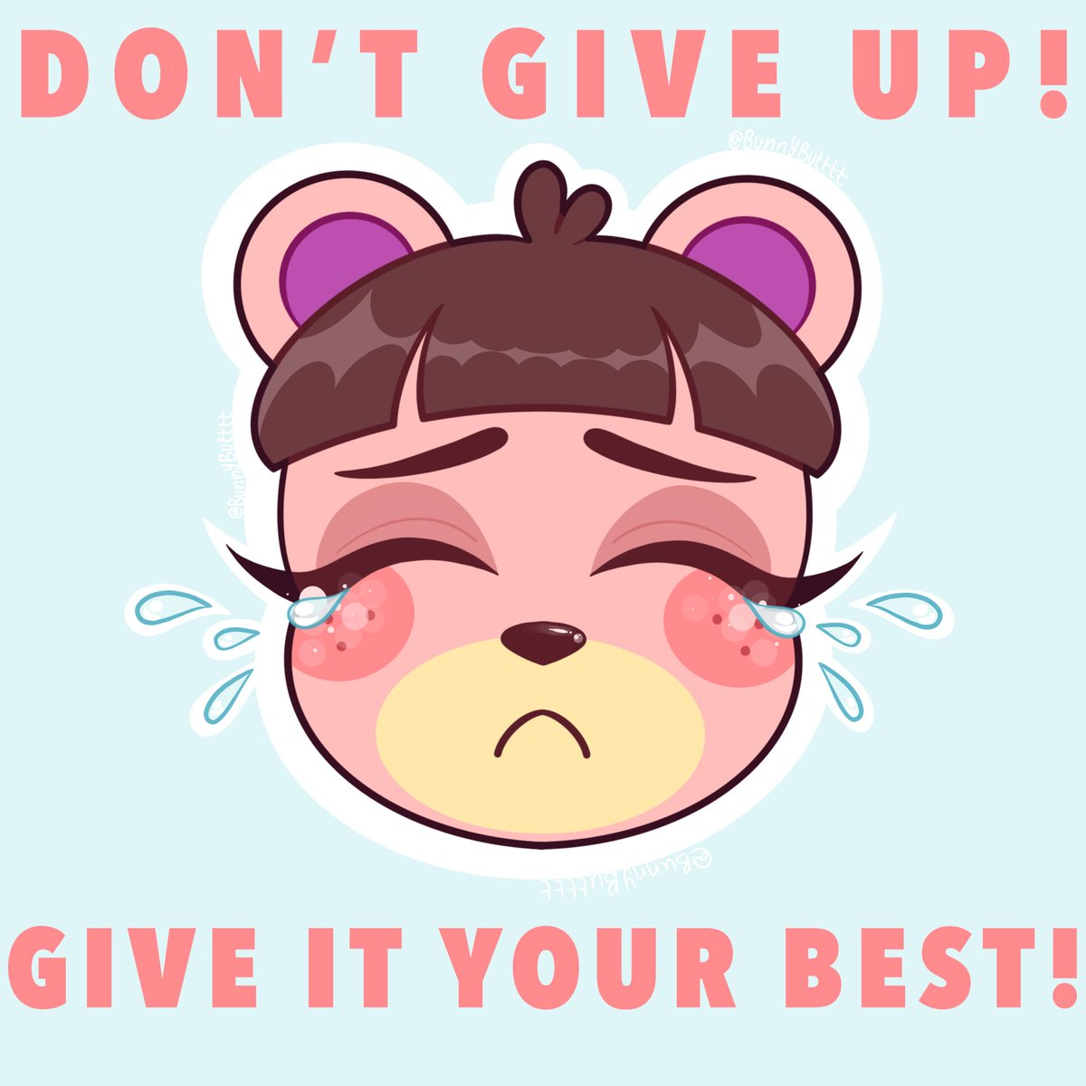 For anyone who needs to hear it #ursala #animalcrossing #animalcrossingnewhorizons #ursalaacnh #villagers #acnh #acnhvillager #dontgiveup #ganbatte #digitalart #art #cuteart #acnhfanartpic.twitter.com/8Xing0itxW