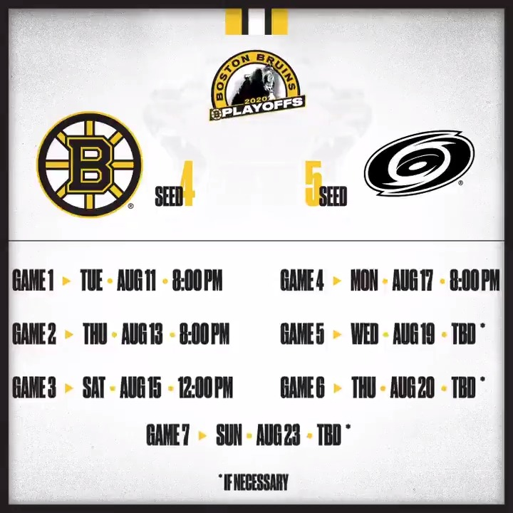 On Tuesday, the quest begins anew. #NHLBruins