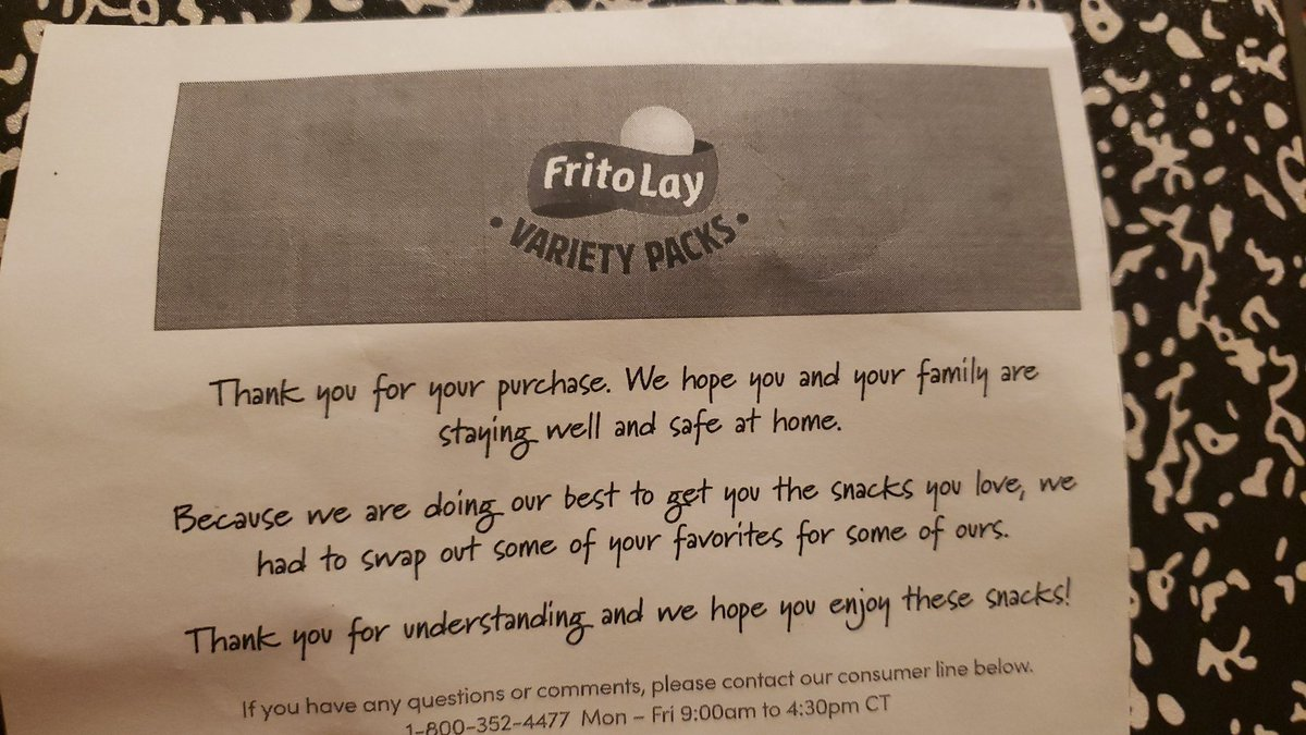@Fritolay thanks for the note but I'd rather have the Chilli Cheese Fritos...