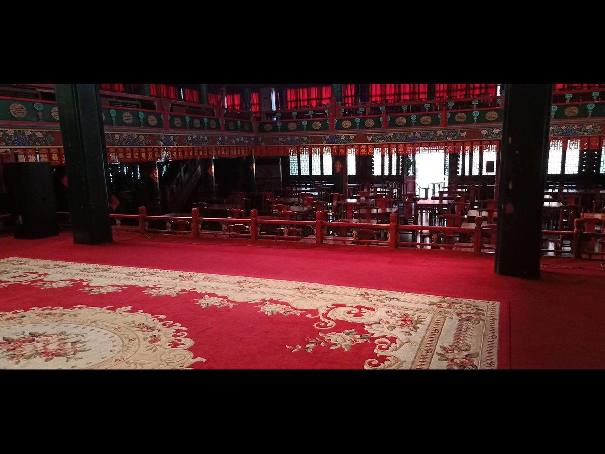 RT @WgCU1XSQ7Getoyz: 北京虎坊橋湖廣會館…  コヴィット19によりずっと公演が延期になっているそうです...