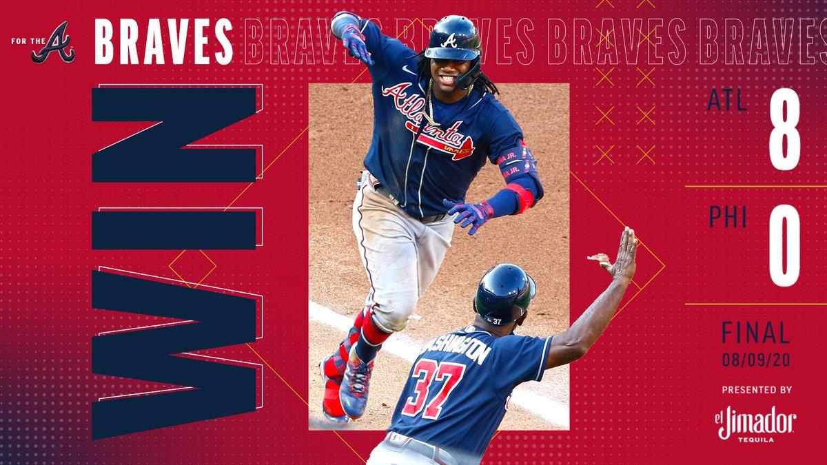 RECAP: Acuña homers twice as #Braves take Game 2. #ForTheA: atmlb.com/2XFVQ52