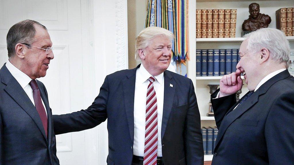 @JuliaDavisNews @REALmillerfinch @StevenLHall1 The optics alone, of the Oval Office meeting, were troubling. https://t.co/NfaM5SjJiw