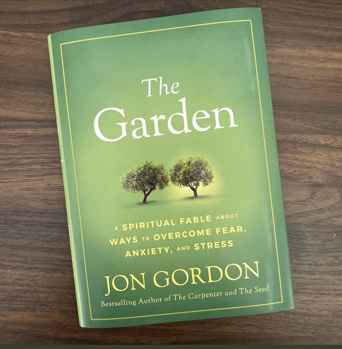 Thank you, @JonGordon11 for our team reading, The Garden!! So pertinent right now! #BucUp #LeadersAreReaders pic.twitter.com/v8C1ngfQKr