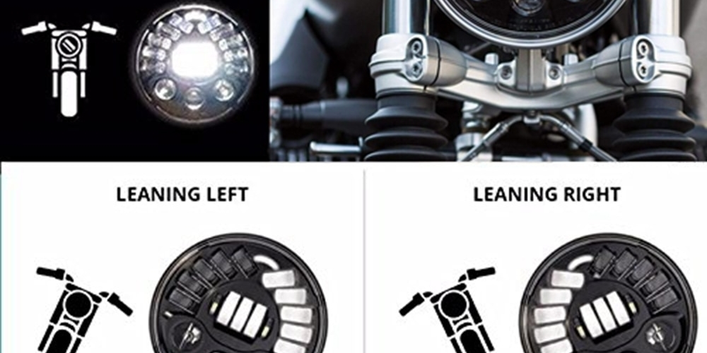 #makelifearide #rninet #bmwmotorrad #harleydavidson Black/Chrome 7Inch LED Adaptive Motorcycle Headlight with Hi/Lo Beam Projector Daymaker BMW R Nine-Tpic.twitter.com/dOQ71ceRHl