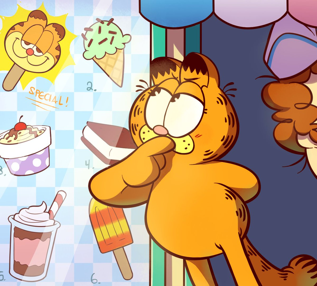 Ah Ah Ah Ah Mel Vampire Month On Twitter Lrt Heyy Everyone If You Re A Garfield Fan Or Just Like Cute Cartoony Art W Good Vibes Pls Go Check Out This Garfield