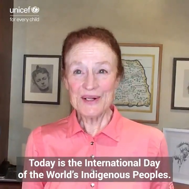 This #IndigenousPeoplesDay, @UNICEF calls on our partners to match the resilience and ideas of indigenous communities with a renewed commitment: To listen to their priorities and invest in childrens health, protection and education. #ForEveryChild, hope.