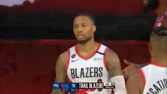 Dame pours in 51! 🙌☔️  @Dame_Lillard's fifth 50+ point game of the season brings the @trailblazers within 0.5 games of the West 8th seed!  #RipCity #WholeNewGame https://t.co/3AE3Pbq8Db