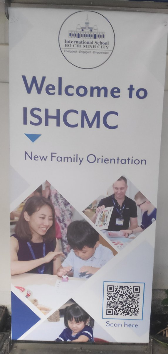 Welcome to all those starting a new academic year at @ISHCMC! We hope you have a very happy and successful year ahead. #CognitaWay