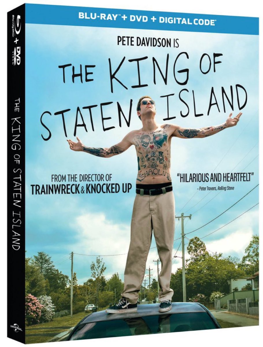 We are giving away five (5) digital codes for Judd Apatow's THE KING OF STATEN ISLAND courtesy of Universal Pictures.   To Enter - Follow @GeekVibesNation and @GeekVibesNews   Retweet   Winner chosen (8/18)  The film will be available to own digitally 8/11, Blu-Ray on 8/25 https://t.co/MNlSlvYKe3