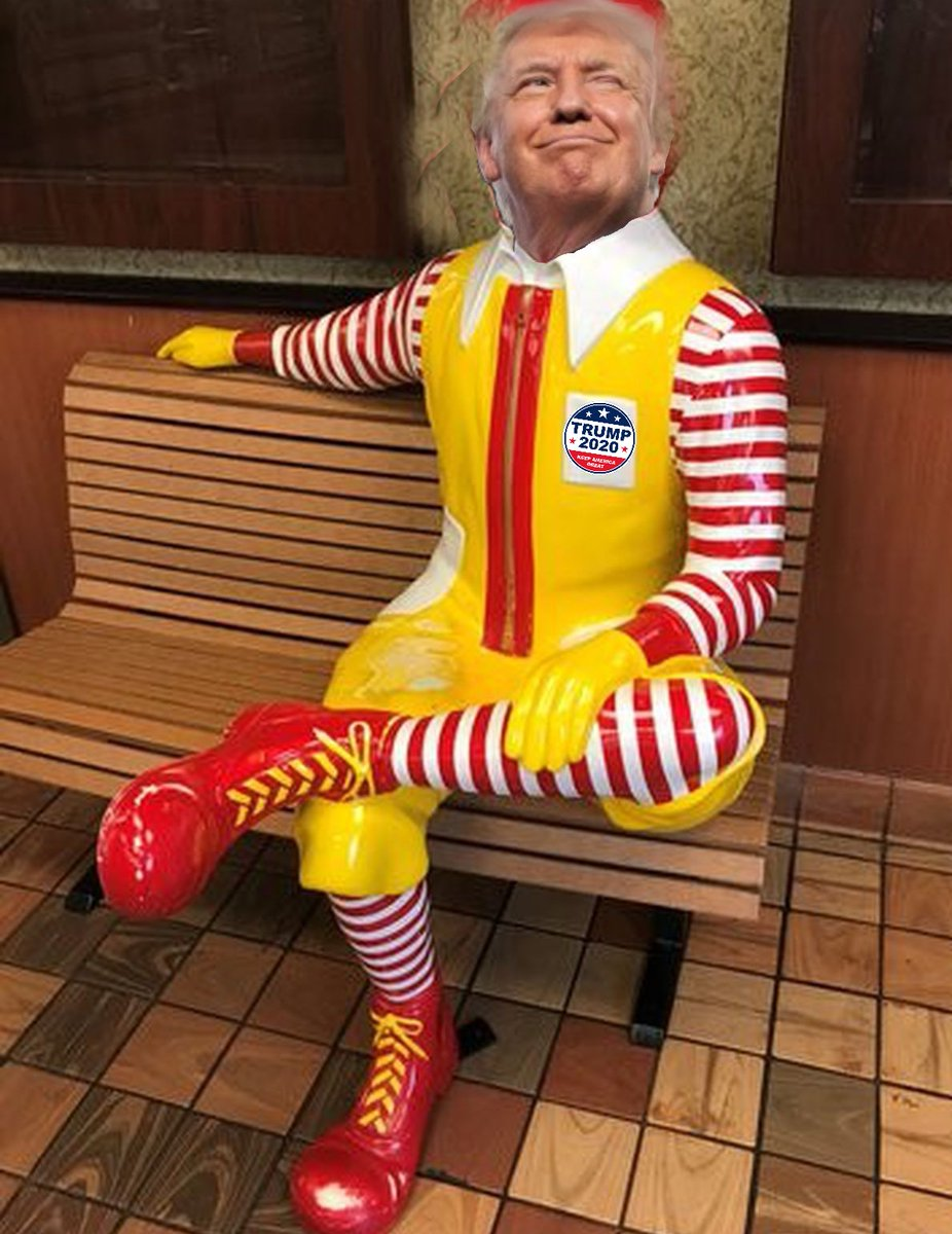 I deserve to be memorialized on a statue beloved by Americans. No President has done more than me to promote #hamberders and #covfefe. #KAG2020 #MAGA2020 #trumptrain #teamtrump #McDonaldTrumppic.twitter.com/4oQaLmo5Op