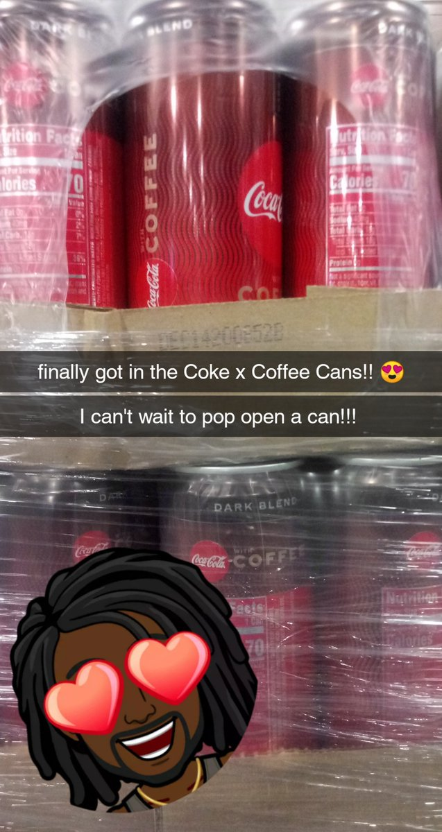 the #Perks I get working for @CokeCCBCC Loooooove it!!!! #Cokexcoffee #CoffeeLover pic.twitter.com/fLf6XiI8ev