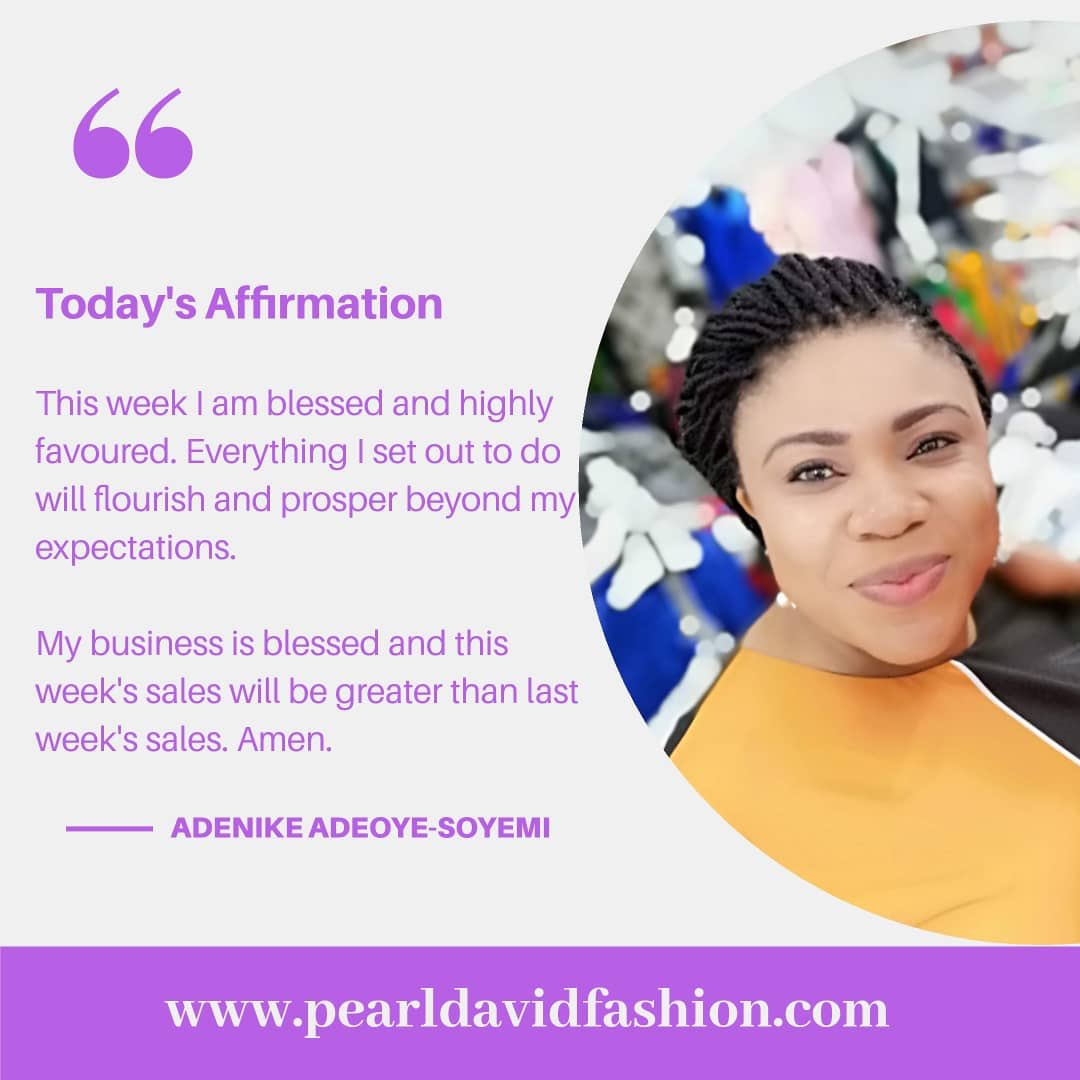 May your week be fruitful beyond your expectations #MondayMotivation #mondaythoughts #pearldavidfashion #beautifulyou #businessowner pic.twitter.com/yng3Sio4Lr