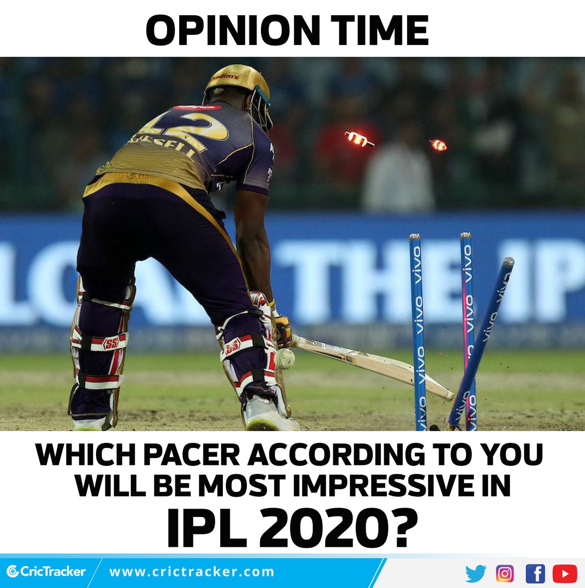 Which pacer will you back?   #Pacer #IPL #Cricket #CricTracker https://t.co/q8bSXLacfw