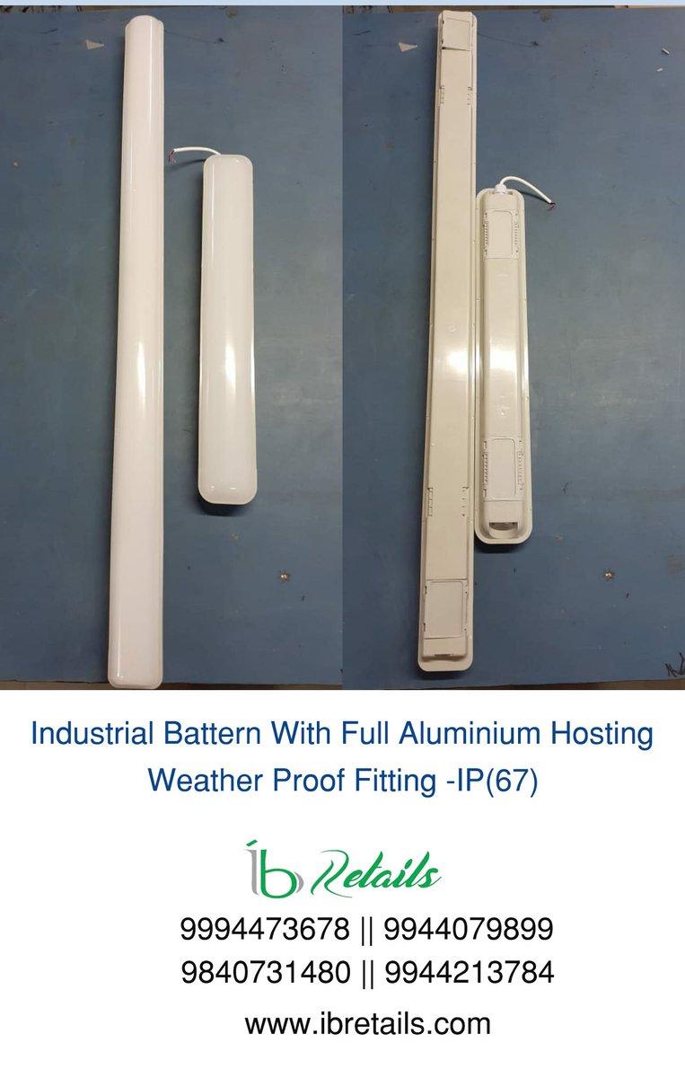 #Industrial Batten With Full Aluminium Hosting Weather Proof Fitting -IP(67) pic.twitter.com/JUtGcZYz6m