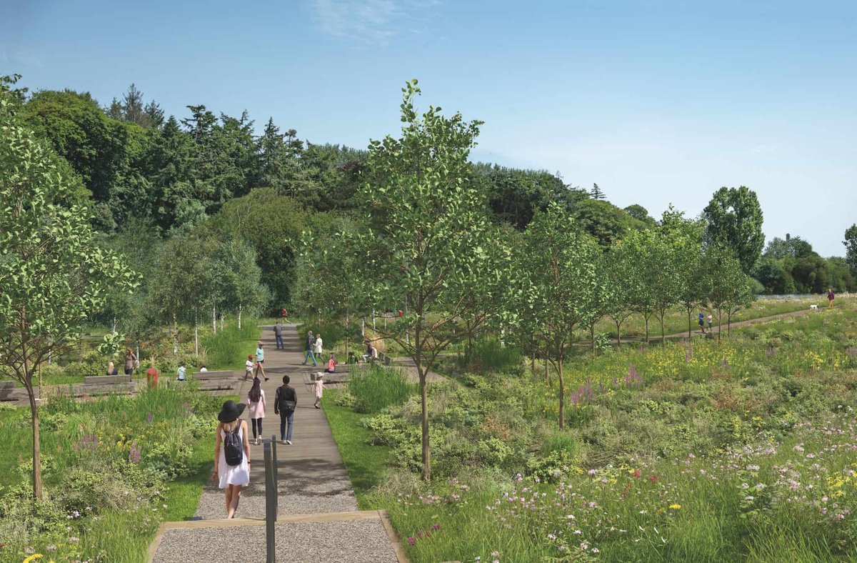 PICS: These images show the proposed new look for the Lee Fields 🌳 https://t.co/Y5cU8doeWJ https://t.co/mwc64xV7J0