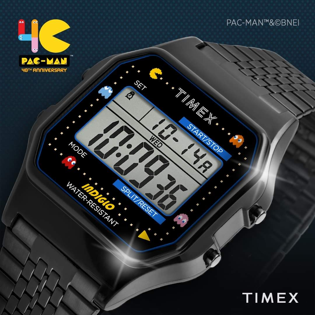 Fulfilling those 80s needs. Available on the Timex India website, shop now: https://bit.ly/3ic5XGF  : Timex T80 x PAC-MAN™  #Timex #TimexIndia #PacMan #PacMan40th #DigitalWatch #80s #SpecialEditionpic.twitter.com/3bN4u52UAx