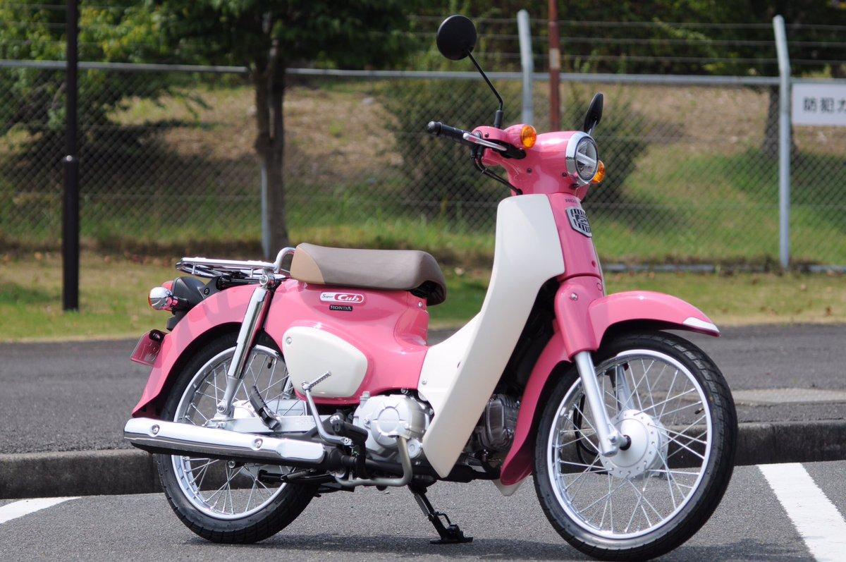 ピンクっていいよね #honda #supercub #天気の子 #牛久大仏 https://t.co/ThbRZO0noo