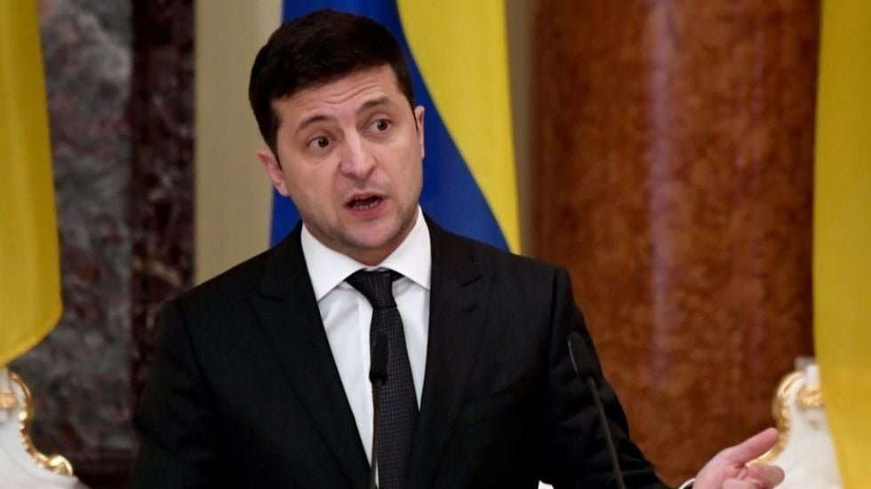 Ukrainian president warns against election interference after US intel statement hill.cm/EpHj4Bh