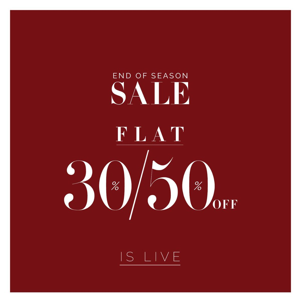 Have you shopped the sales yet? 'Cause it's raining discounts  Monsoon season calls for some light and fun new outfits at flat 30% and 50% OFF! To shop, visit Sana Safinaz outlet located at the First Floor. #gigamall #gigagroup #shoppingmall #shopping #SanaSafinaz #WTCPAKpic.twitter.com/tPIAUpDOoV