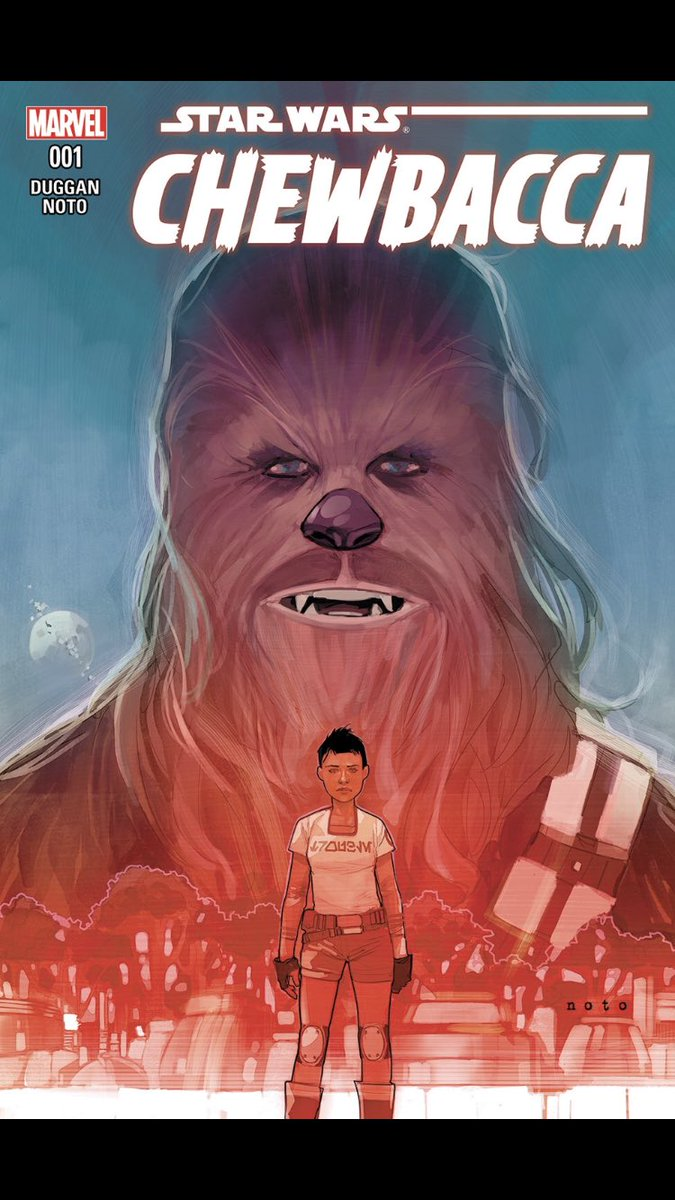 #comicbeforebed Chewbacca No. 1, October, 2015. Chewie fixes a ship, eats soup, and befriends Zarro. #StarWars #Chewbacca #MarvelComics #MarvelUnlimited #digitalcomics @starwars @marvel @MarvelUnlimitedpic.twitter.com/JYe0gbPwKn