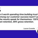 Image for the Tweet beginning: #MotivationMonday @lcostella has outstanding results