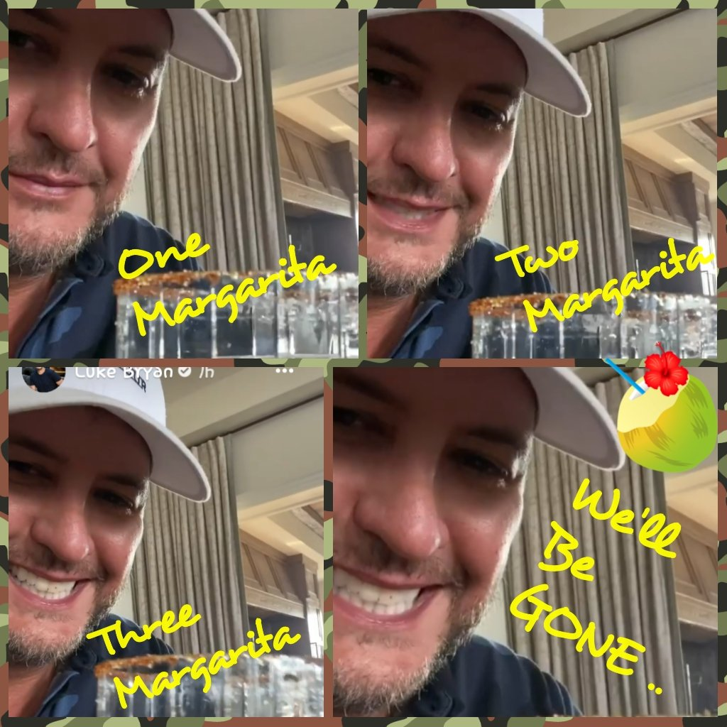 Y'all need to go and get #BornHereLiveHereDieHere !! 🎵🎶 Its out NOW ! 🎵🎶 You will not be disappointed!! #OneMargarita #BuildMeADaddy #DownToOne #KnockinBoots ..  @LukeBryanOnline .. Thank you for 👇👇👇