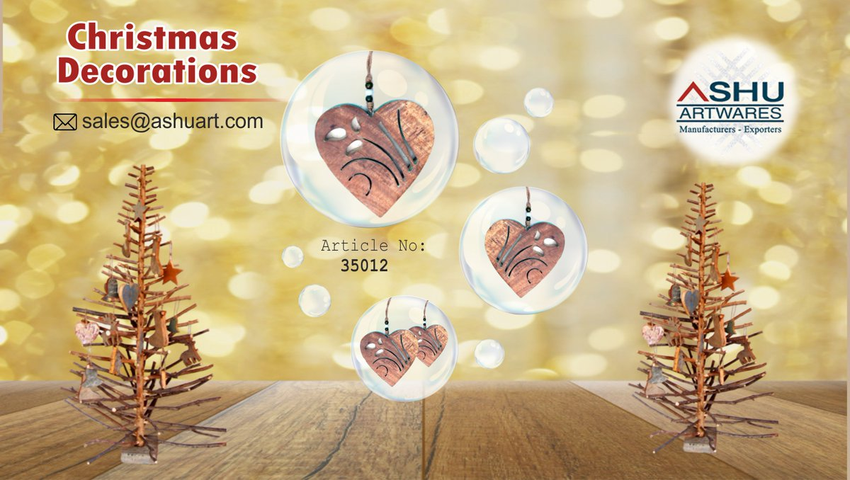 Great to hang on your Christmas tree. Perfect for Christmas decorations #interiors4you #naturalwood #epch #baa #epchindia #BAA_India #walldecor #homedecor #wallpanels #homeinteriors #christmas #christmasdecor #exporter #buyingagentsassociation #sourcingagents #exporterworldwidepic.twitter.com/2fKQknSkeK