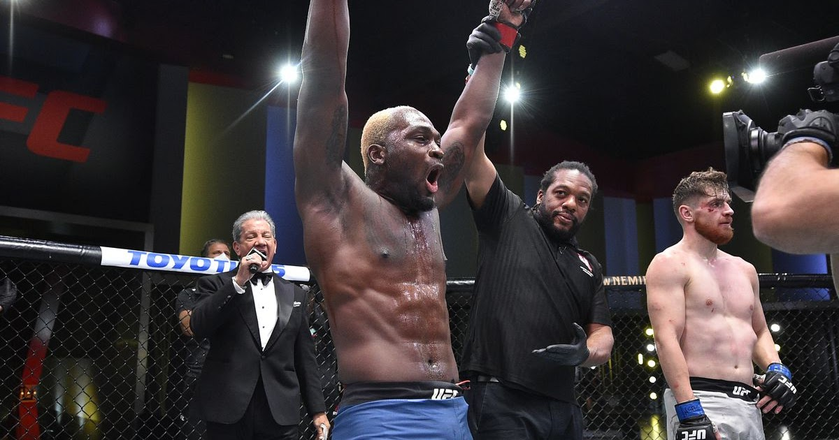 #ICYMI: #UFCVegas5: Derek Brunson Demands Respect At 185 Pounds https://t.co/xBIXGCzDQK https://t.co/b1SZO3o7SL