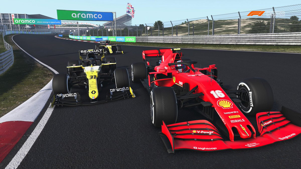 #Zandvoort was like a reverse corkscrew. P6 -> P14. Managed to bag the fastest lap, though. #ISRL #F12020 #F1game #F1esports https://t.co/azt4ohel8W