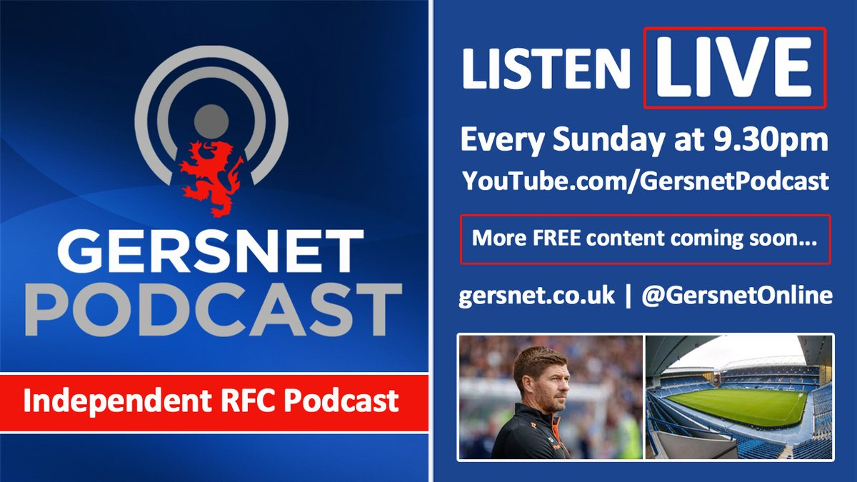 It's Monday morning so time for your GN Pod.  This week @DWren6 is joined by @moonman1873 & myself to discuss our win over St Mirren, the quality of our (now ended) European run, incoming transfers & all the rest of the RFC news. Details here: https://www.gersnet.co.uk/index.php/news-category/current-affairs/1202-gersnet-podcast-099-first-blood-to-the-bears…pic.twitter.com/2JVgsLdGuO