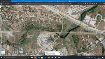Satellite image of Mbagathi River from, AthiRiver. Taken from Google Maps