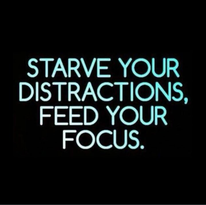 Feed your focus #focus  #distractions #distractionpic.twitter.com/KmwWhWsQwI