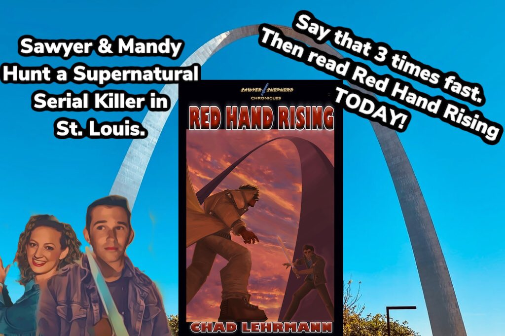 Hunting red handed killers & tracking down the devil in St. Louis. The #sawyershepherdchronicles continues here:  https://amzn.to/3934uPu.                              #newrelease #booktwo #urbanfantasy #urbanfantasybookseries #yalit #youngadultbooks #ilovebooks #booksbooksbookspic.twitter.com/yDVDGGGKHg