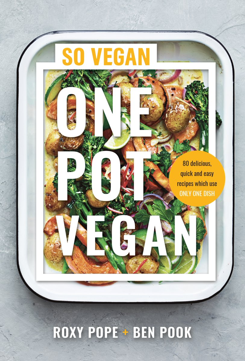 Our lovely friends at @wearesovegan have launched a new cookbook, packed to the brim with lots of #MeatFreeMonday inspiration. 'One Pot Vegan' has 80 delicious meals to enjoy over and over again – and we've got three copies to give away!  @MichaelJBooks
