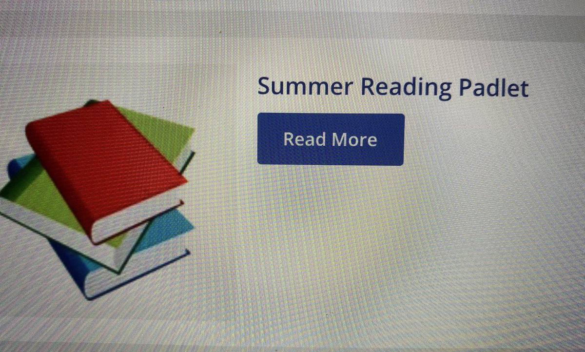 Glebers, remember to post books you have read during the summer,  at the Glebe homepage reading Padlet ⁦<a target='_blank' href='http://twitter.com/GlebeAPS'>@GlebeAPS</a>⁩ <a target='_blank' href='https://t.co/NgVpjLHwwm'>https://t.co/NgVpjLHwwm</a>