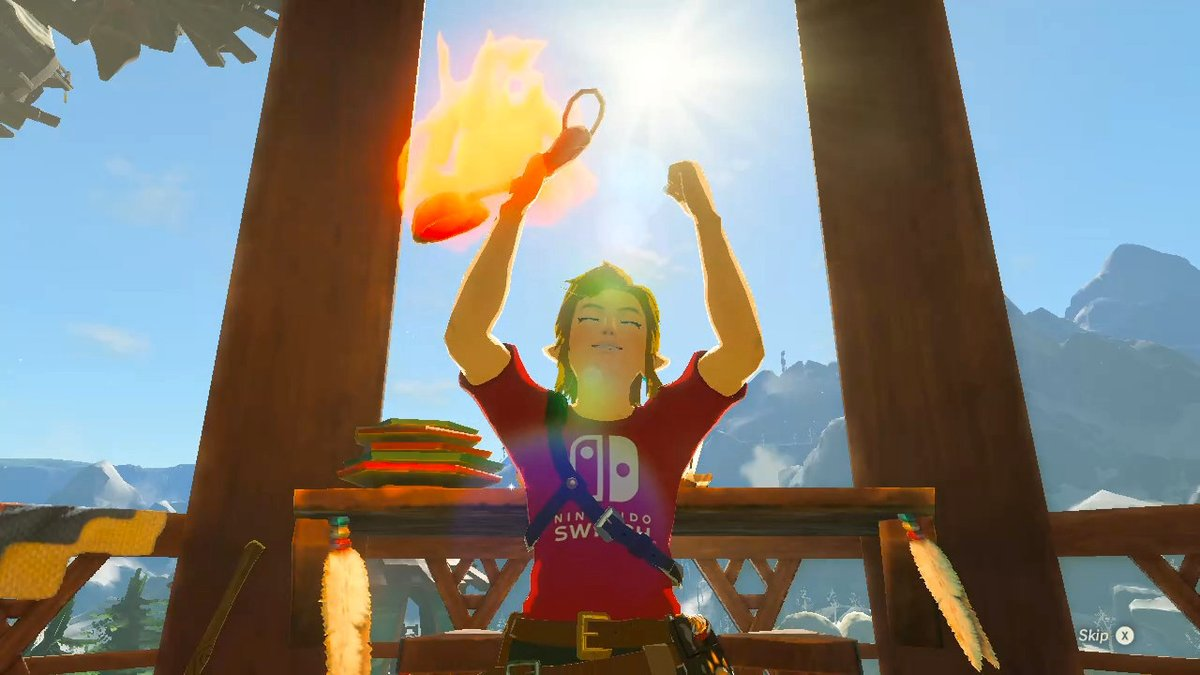 How are you enjoying your summer holiday? I am enjoying my summer! #Zelda #BreathoftheWild #summer pic.twitter.com/LtGQUVaQg9