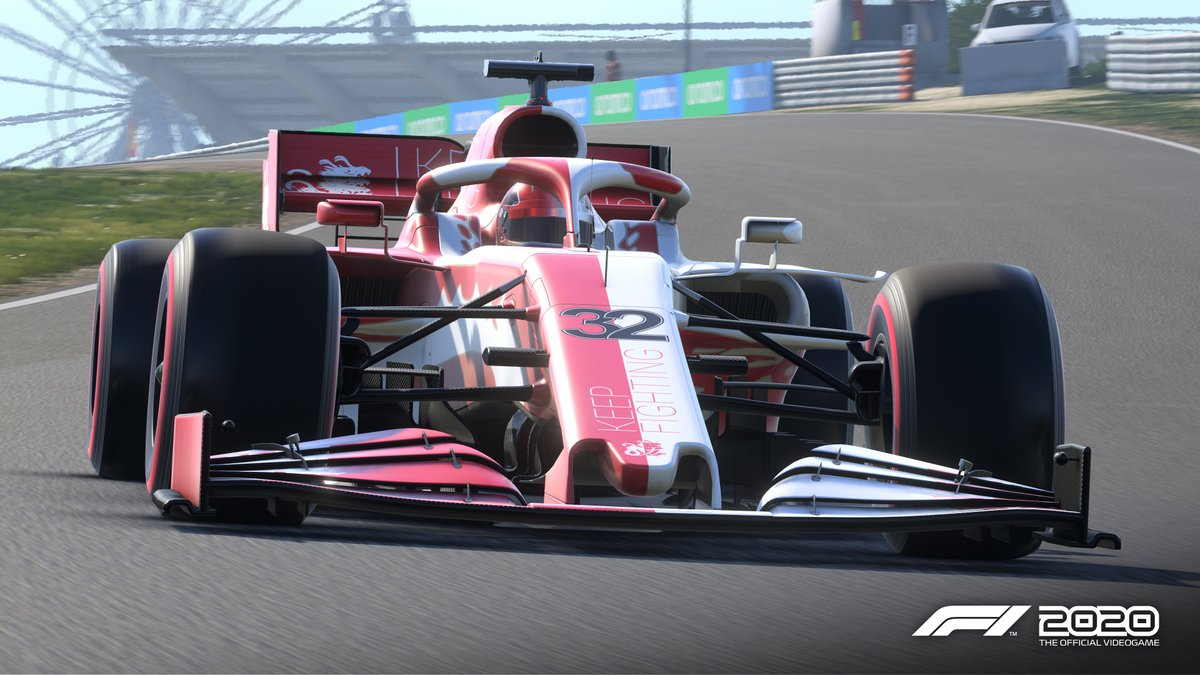 Inspired by the legendary Michael @schumacher, from today we're offering some special items for #F12020game, with proceeds going directly to @keepfighting 💪  Now you can look great in-game whilst contributing to a mighty cause #KeepFighting  More info | https://t.co/OQowmnQeXV https://t.co/5WRyKCmeyc