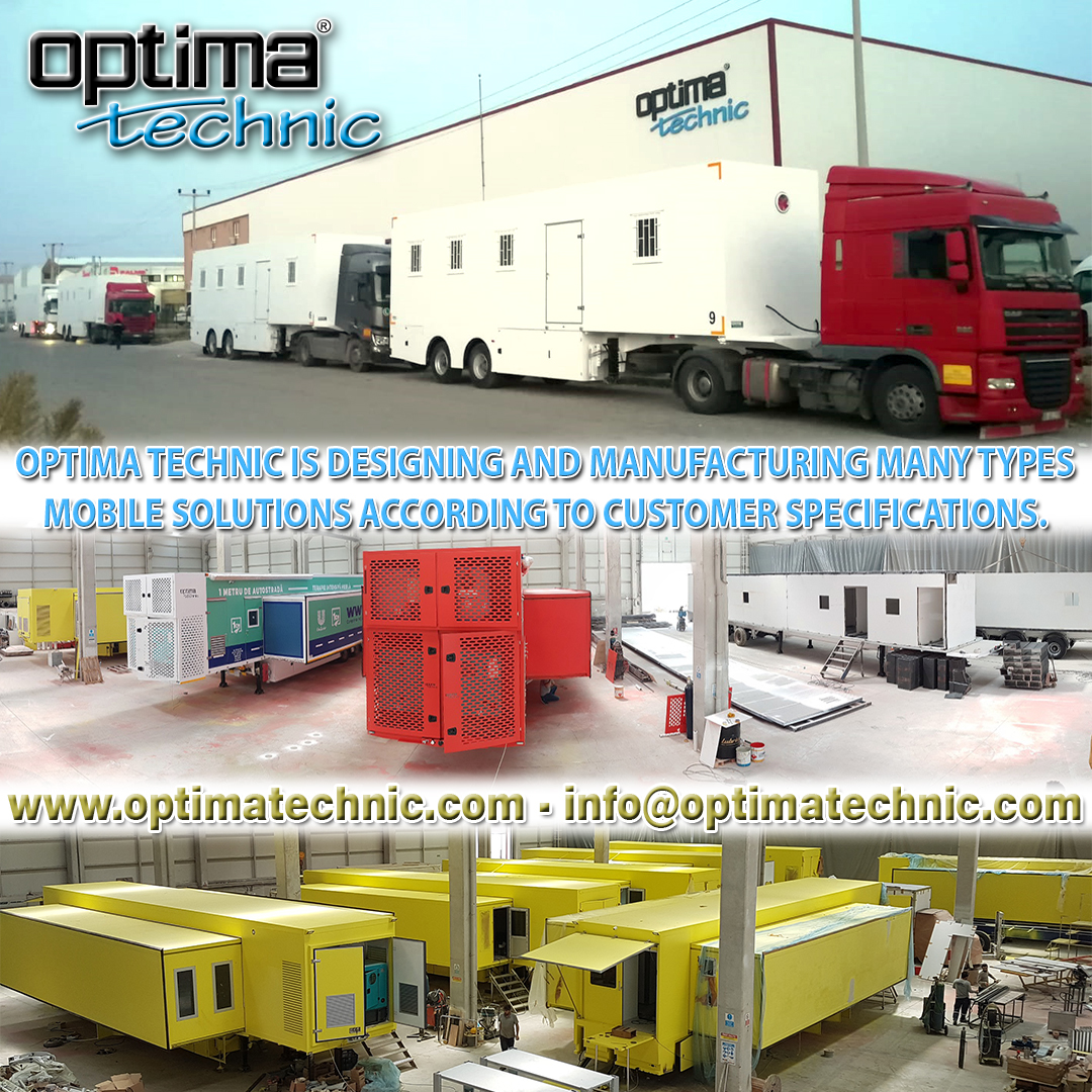 Optima Technic is designing and manufacturing many types Mobile Solutions according to customer specifications.   For more information, please contact with us. https://t.co/wfnKNzBriK info@optimatechnic.com  #madeinturkey #mobilehospital #healty #optimatechnic #mobileclinics https://t.co/39Ebx3uRpR