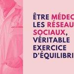 Image for the Tweet beginning: #RéseauxSociaux #Médecins Concilier une liberté de