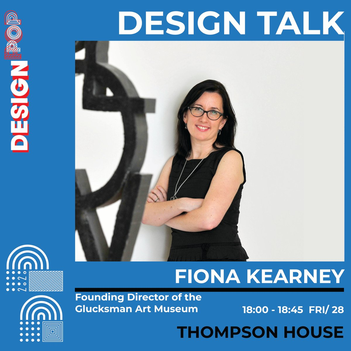 Design POP kicks off Friday the 28th of August with Fiona Kearney speaking at 6 pm - 6:45 pm and closing the night. Fiona is the founding Director of @theglucksman. #newlight #designtalk #designpopcork #designpop2020 #glucksmanart https://t.co/FDo6fnn2iX