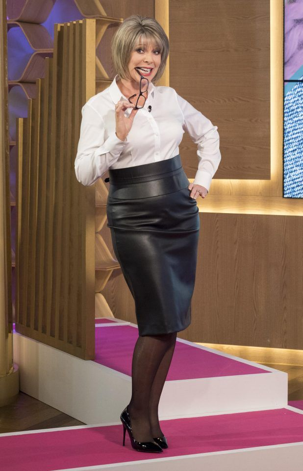 RT @DannyGreenPerv: Who remembers when @RuthieeL wore this #leather skirt on #ThisMorning? Absolutely amazing! 🤍🖤 https://t.co/NJnmmHjp9o