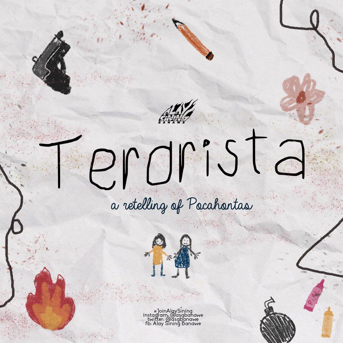 Terorista: A Retelling of Pocahontas By Alay Sining Banawe  (1/10)  #OustDuterte #JunkTerrorLaw #ArtistsFightBackpic.twitter.com/5OkFdHXfiF