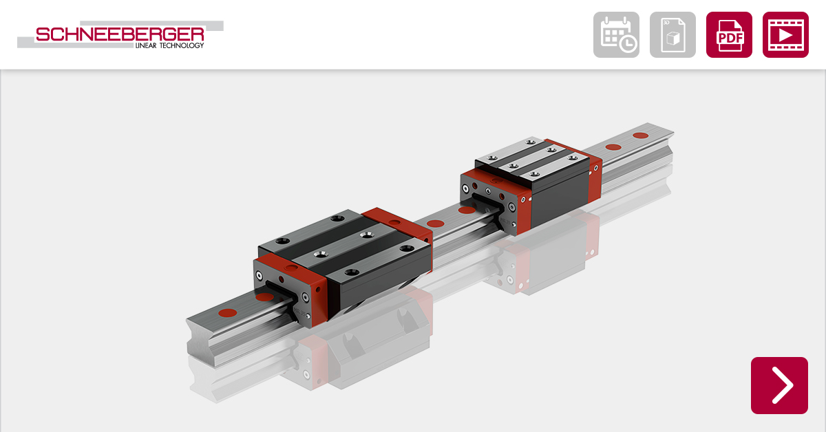 #SCHNEEBERGER MONORAIL MR Profiled linear roller guideways: 4 reasons to love the 4S series.  Read more: https://t.co/d1xnzkpTYU  https://t.co/GDx0AUFGli https://t.co/vDQmUbhKdH