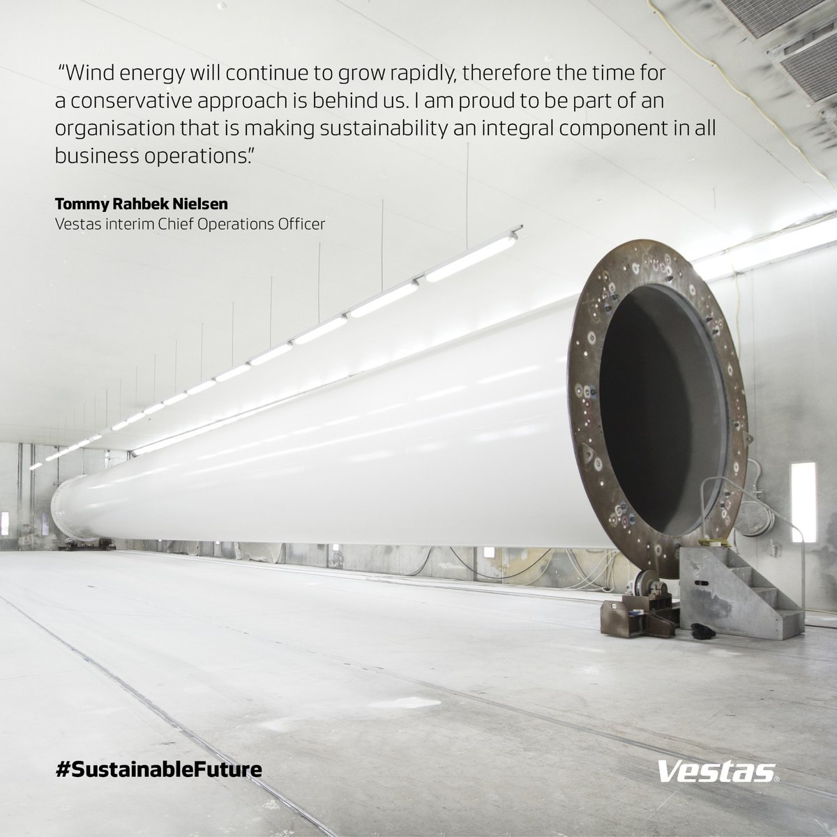 Aarhus-based @Vestas, the world's largest maker of #windturbines, has pledged to eliminate all waste in the production of its machines by 2040 #carbonneutrality #zerowaste #BuildBackCircular #Vastas pic.twitter.com/O6S2N4BpK6 https://twitter.com/HotspotNordic/status/1292773515830190082 …
