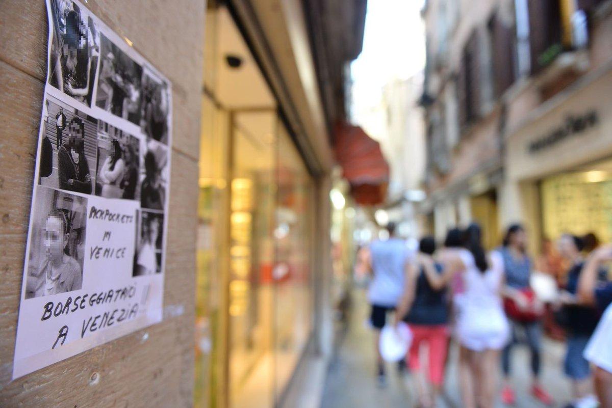 #venezia Sorprese a rubare nei negozi del centro s...